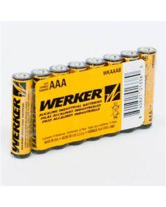 Werker AAA Alkaline Batteries 4PK