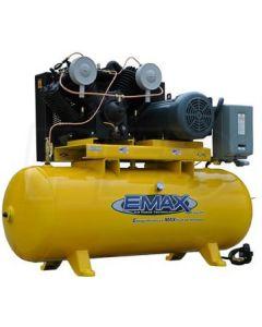 Compressor 7.5 HP 2 Stg V4 1 Ph Hor. 80 Gal