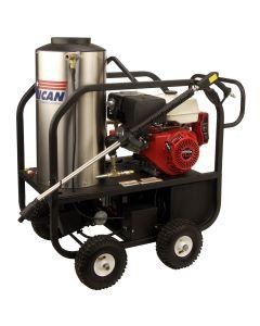 Honda GX340 ES Mobile Hot Water Pressure Washer, 4 GPM, 3000 PSI