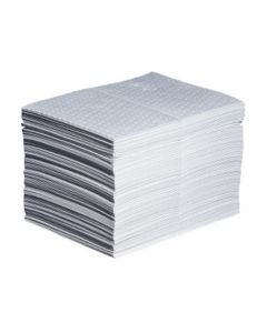 """PIG Oil-Only Absorbent Mat Pad 15""""x20"""" - Heavy Wgt 100/bag"""