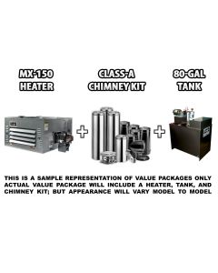 MX-150 Heater Pack A, No Stand