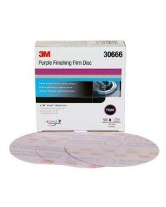 "Hookit Abrasive Disc 260L 6"" P2000 (50/Box)"