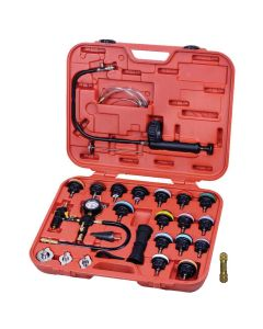 28 Piece Radiator & Cap Pressure Tester Kit