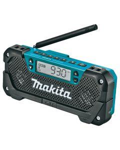 Makita 12V max CXT Li-Ion Cordless Compact Job Site Radio (Bare Tool)