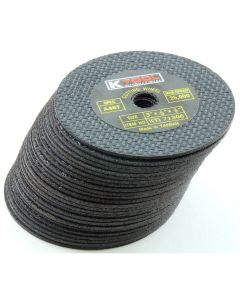 "50-pk of 3"" x 1/16"" Abrasive Cut-Off Discs"