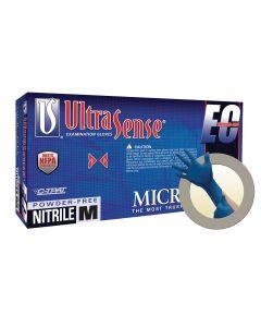 ULTRASENSE EC NITRILE GLOVES M 100PK