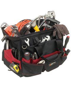 """Performance Tool 18"""" Tool Bag w/ 36 Pockets"""