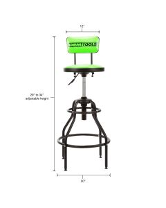 2 PACK - STOOL WITH BACKREST