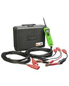 Power Probe TEK III Green Case & Accessories