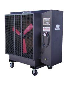 "36"" Black Galvanized Steel Evaporative Cooler"