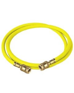 """96"""" R-134A Yellow Hose"""