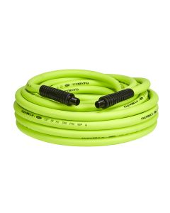 "Flexzilla Air Hose, 1/2"" x 50', 3/8"" MNPT Fittings"