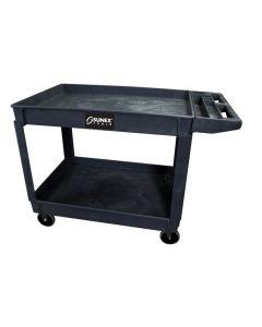 Oversized HD Utility Cart, Black