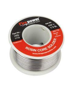 """Solder, Rosin Flux Core, 30/70, 3/32"""" x 1/2 lb"""