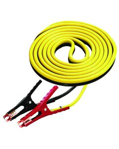 12 ft. Medium Duty 8-Gauge Battery Booster Cables with 400 Amp Clamps
