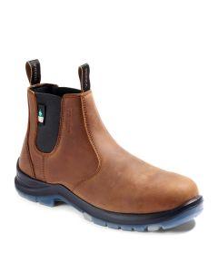 Terra Murphy Chelsea Composite Toe EH Brown Boot Size 9.5