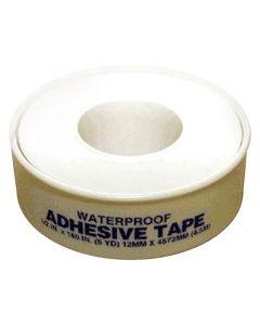 "Adhesive Tape, Waterproof, 1/2"" x 5 Yards"
