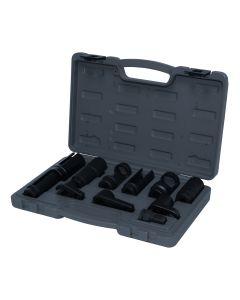 11PC Oxygen Sensor Socket Set