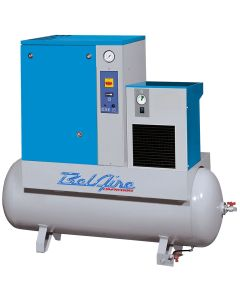 5 HP Rotary Screw Compressor with Dryer