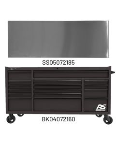 72 in. RS PRO 16-Drawer Roller Cabinet with 24 in. Depth