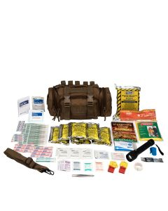Emergency Prep, 1 Person, Tan Fabric Bag