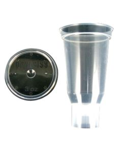 3 Oz. Disposable Cup & Lid (Qty 24)