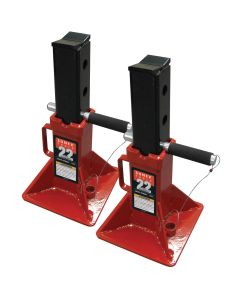 22-Ton Pin Type Jack Stands (Pair)