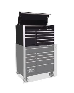 "Extreme Tools 41"" 8-Drawer Top Chest, Black"
