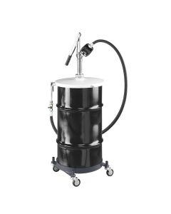 Portable Hand Operated Lube Pump for 16 Gallon Drum