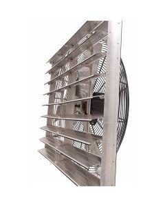 """24"""" Shutter Fan, 1/3Hp, Variable, Industrial"""
