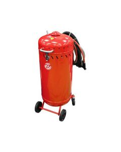 28 Gallon Roll Around Sandblaster With Vacuum (Will Call Only)