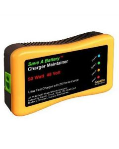 Save A Battery 48 Volt Charger and Maintainer, Auto-Pulse, Extends Battery Life