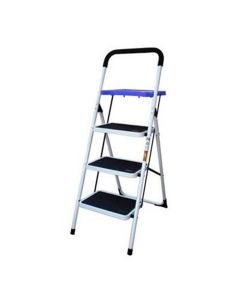 New Buffalo Corp. Step Ladder with Paint Tray