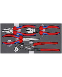 Knipex 4-Piece Basic Pliers Set