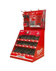 Milwaukee Shockwave Cabinet Drill & Drive Merchandiser