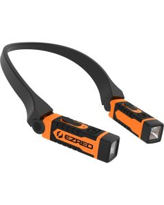 ANYWEAR Red Rechargeable Neck Light, Orange