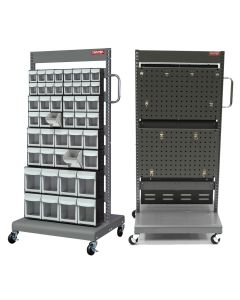 CART 2 SIDED BINS/FLIP OUT