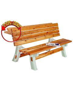 2x4 Basics Flip Top BenchTable Kit (Lumber Not included)