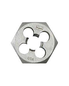 "High Carbon Steel Hexagon 1-7/16"" Across Flat Die 18mm-1.50"