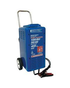 Associated Heavy Duty 6/12/18/24V Battery Charger with 400 Amp Engine Start