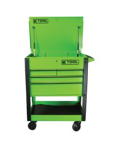 Tool Cart Locking Drawer, Green