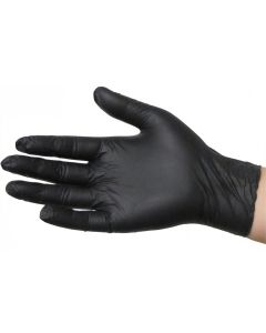 SkinTX Medical 5mil Nitrile Gloves Blk PF XL