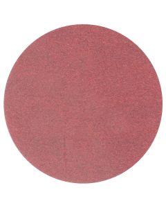"3M Red Abrasive Stikit Disc, 6"", P80D, 100 Per Roll"