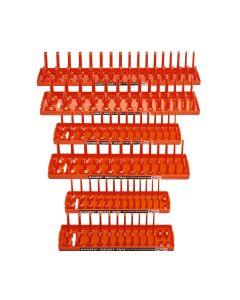 Hansen Global Socket Tray Six Pack, Orange