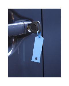 Blue Plastic Key Tags- 1,000/Box