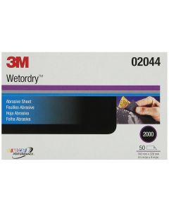 """3M Imperial Wetordry Sheet 5-1/2"""" x 9"""" 50 Sheets per Sleeve"""