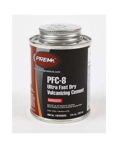 8 Oz Can Ultra Fast Dry Vulcanizing Cement