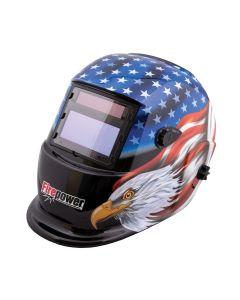 Firepower Auto-Darkening Welding Helmet w/ Stars & Stripes Design