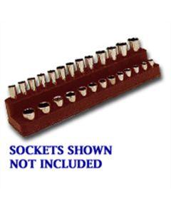 1/4 in. Drive Magnetic Black Socket Holder 4-14mm