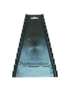 12 Piece Reversible Black Wrench Rack